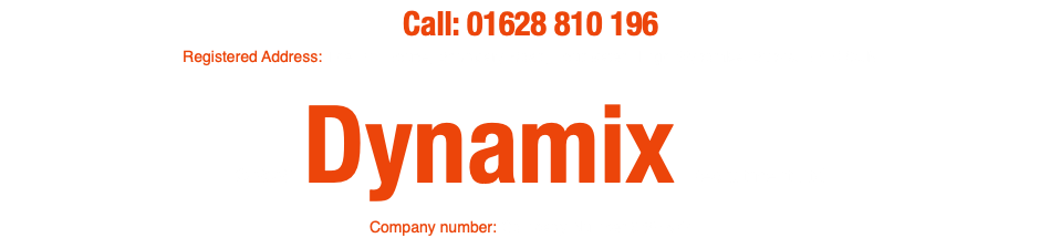 Call: 01628 810 196 Registered Address: The Mill House, Boundary Road, Loudwater, High Wycombe, Bucks. HP10 9QN © 2019 Dynamix Recruitment Ltd Company number: Company Number 9687577